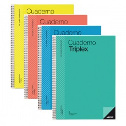 Cuaderno tríplex Additio