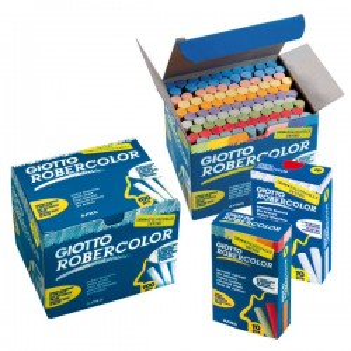 Caja de 100 tizas Robercolor Blanco