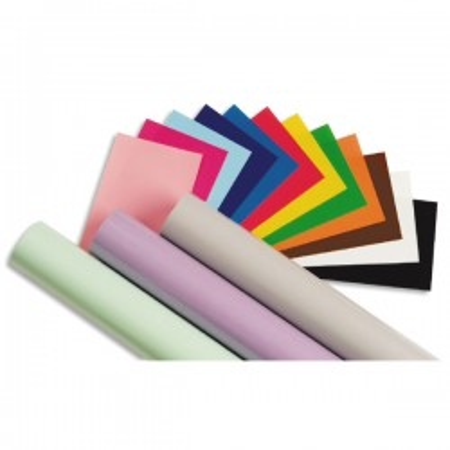 Rollo papel charol trepado Sadipal 25h 50 x 65 cm. color rosa pálido