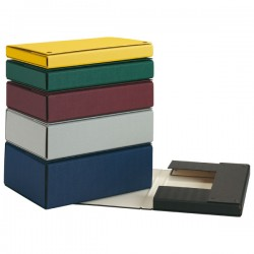 Caja de proyectos Pardo Lomo 150mm. Forrado Cierre con broche Folio Azul