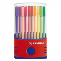 Rotulador Stabilo Pen 68 estuche ColorParade 20 colores surtidos