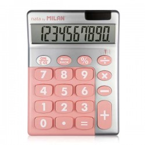Calculadora de sobremesa Milan Silver 10 dígitos colores surtidos