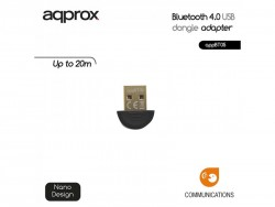Adaptador Approx Bluetooth 4.0 USB Dongle Adapter APPBT05