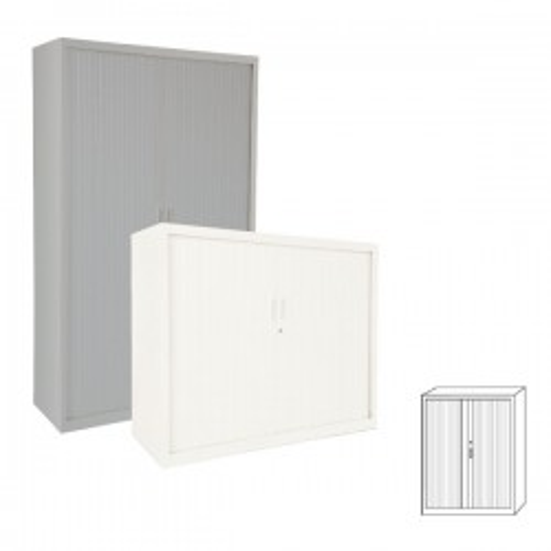 Armario Gapsa puertas de persiana. 120x160x45cm. Distintos colores de madera a elegir