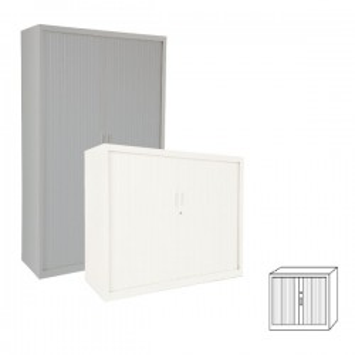 Armario Gapsa puertas de persiana. 102x105x45cm. Distintos colores de madera a elegir